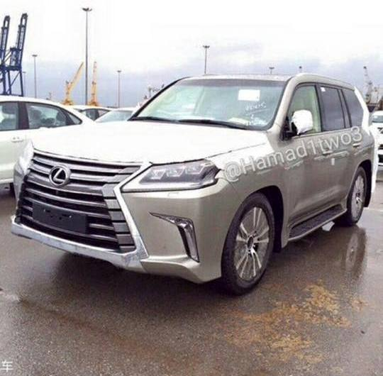2016 LX 570 leaked front