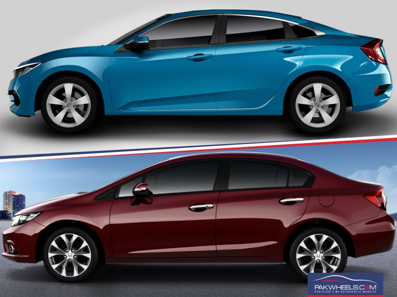 Honda Civic 10Th Gen >> Comparison Between The 9th And 10th Generation Honda Civic ...