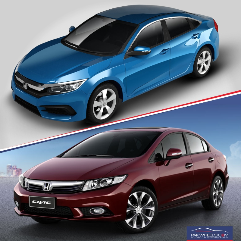Honda Civic 10th vs 9th Generation