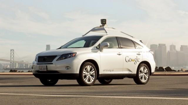Google Lexus Self Driving Cars (5)