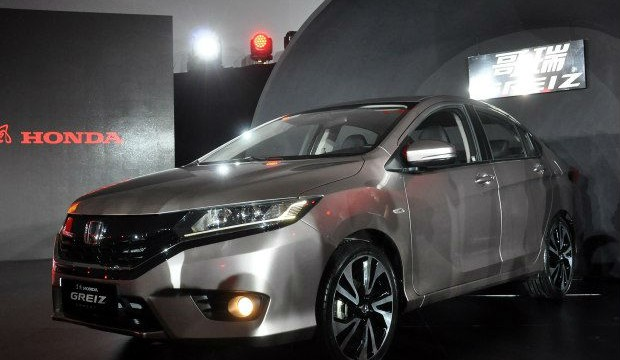 Honda Greiz A Restyled Honda City For China Will Be