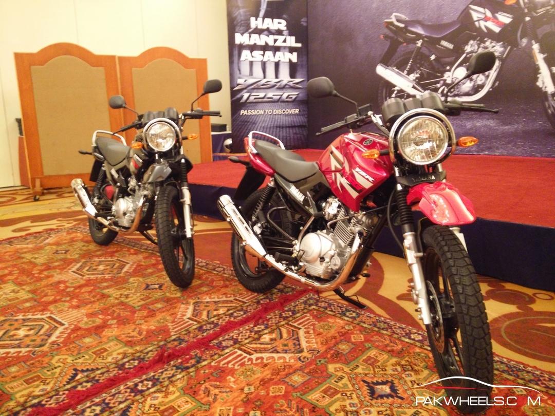 Yamaha YBR 125G Pakistan  (23)