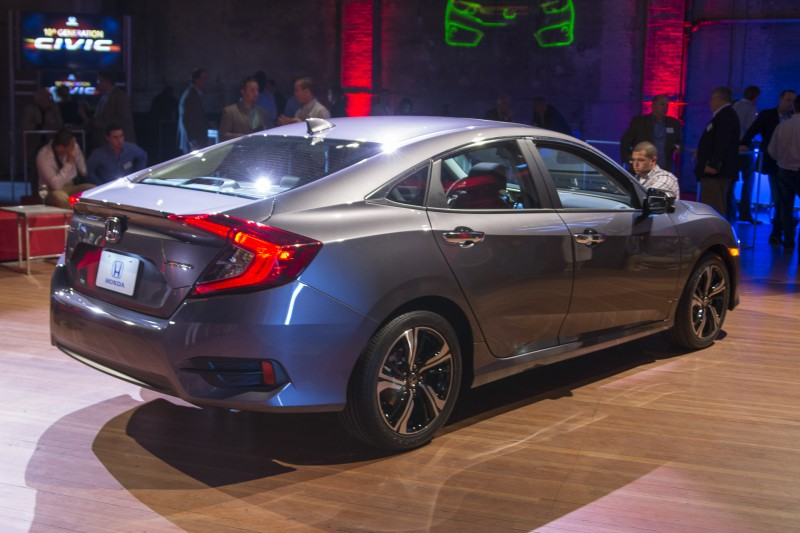 Honda Civic 2016 To Be Launched In 2017 In Europe - PakWheels Blog