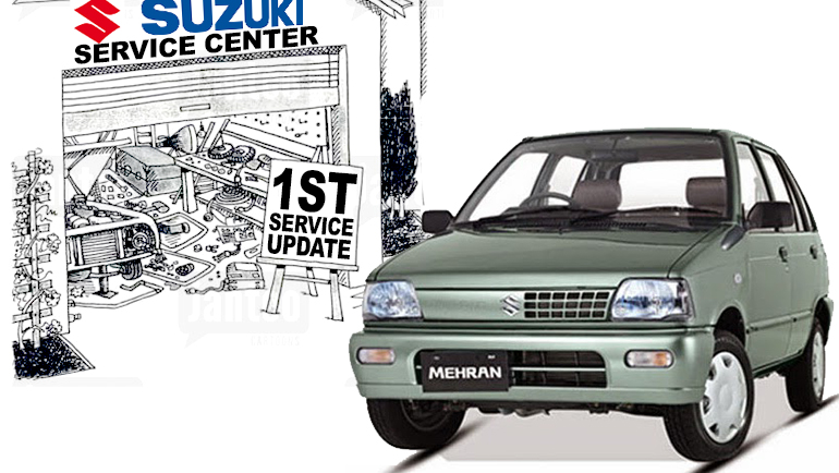 Mehran First Service Update