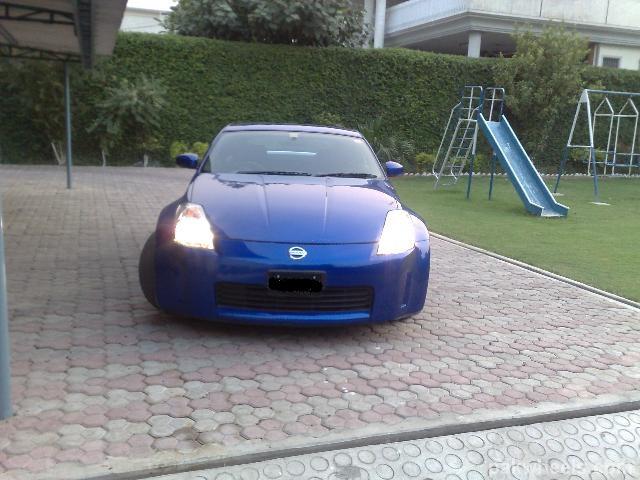 350z Daytona Blue 1