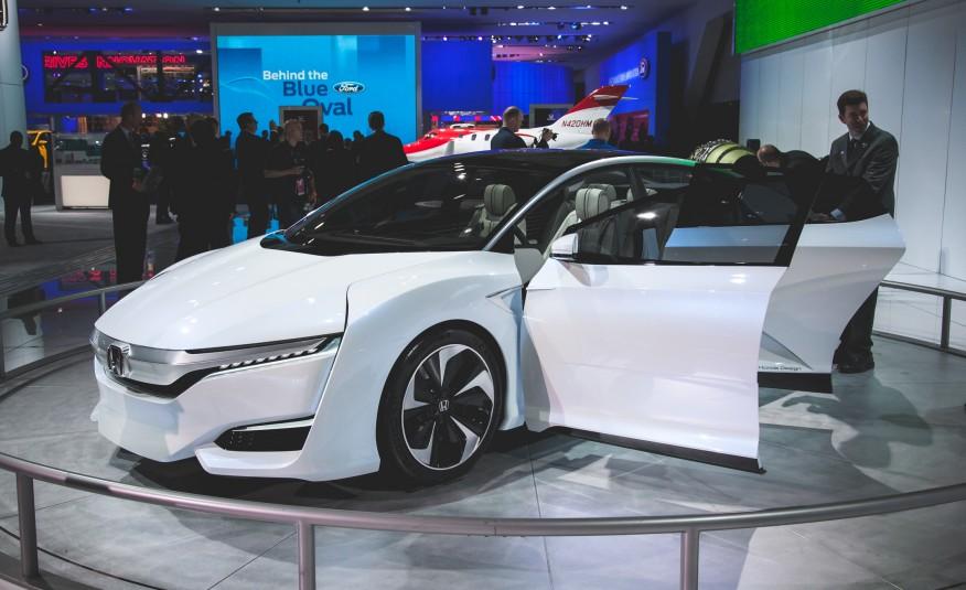 honda to bring hydrogen powered fcv concept to tokyo motor