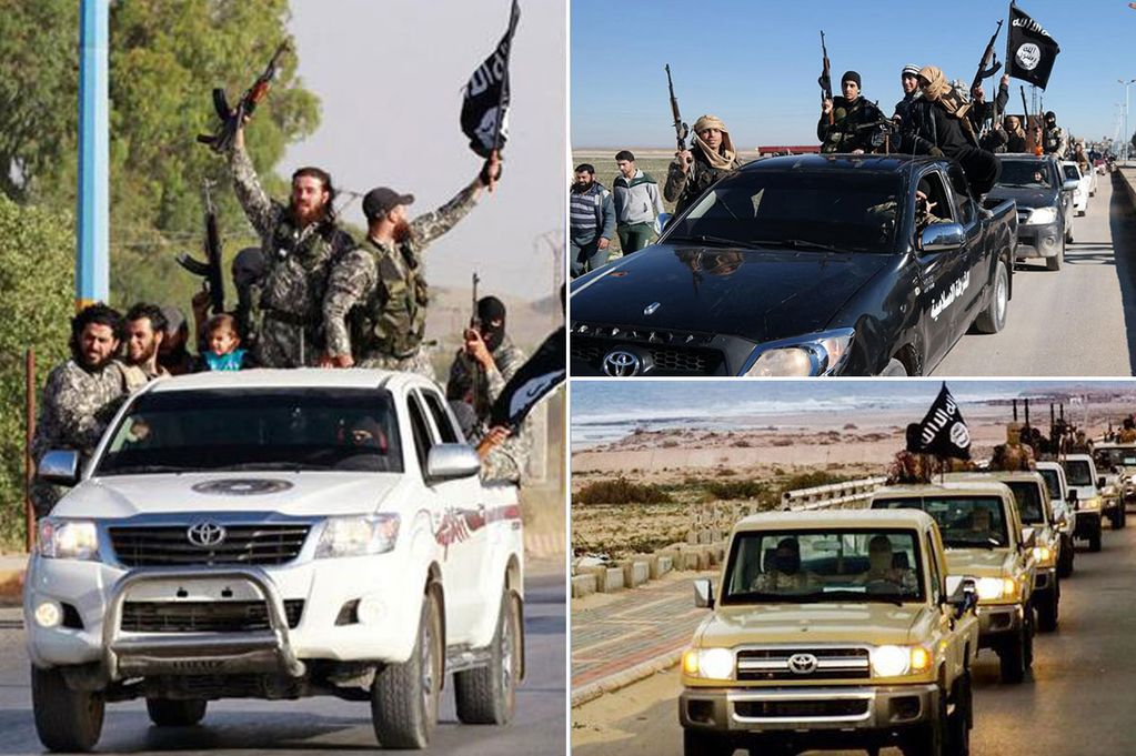 us asks toyota how isis is getting their vehicles
