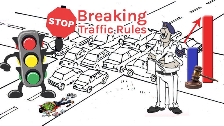 Traffic Rules Violations: Challans Should Be Increased By