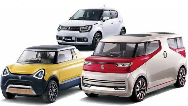 suzuki to bring a whole host of concept cars at tokyo motor show pakwheels blog. Black Bedroom Furniture Sets. Home Design Ideas