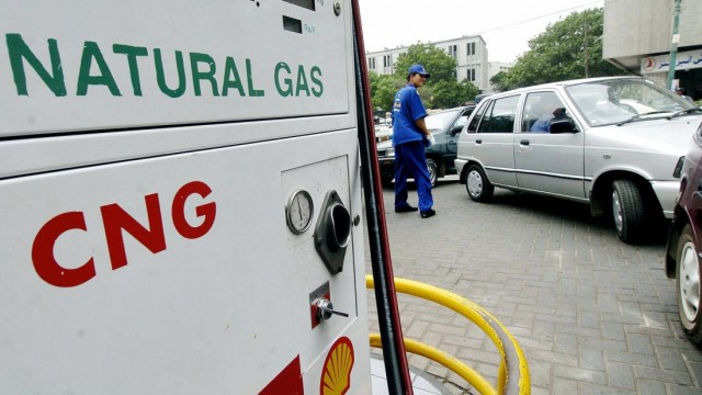 Shell CNG Station