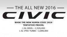 Honda Civic Pricing