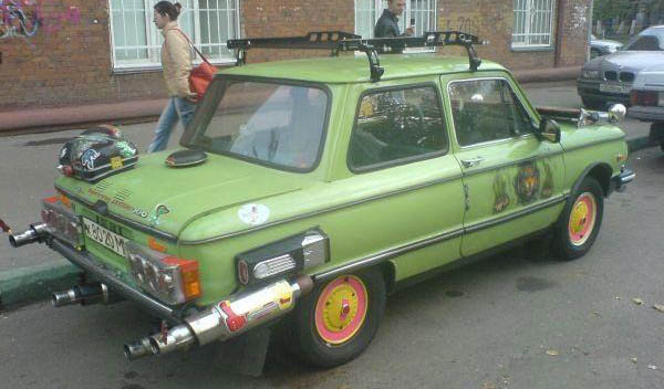 A 1980s Lada From Russia With Love Pakwheels Blog