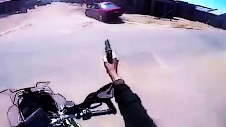 Watch-A-Crazy-South-African-Cop-On-Motorcycle-Shoot-Through-A-Neighborhood