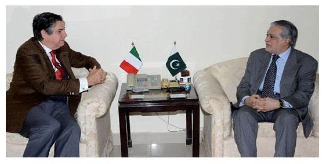 Ishaq-dar-italian-envoy
