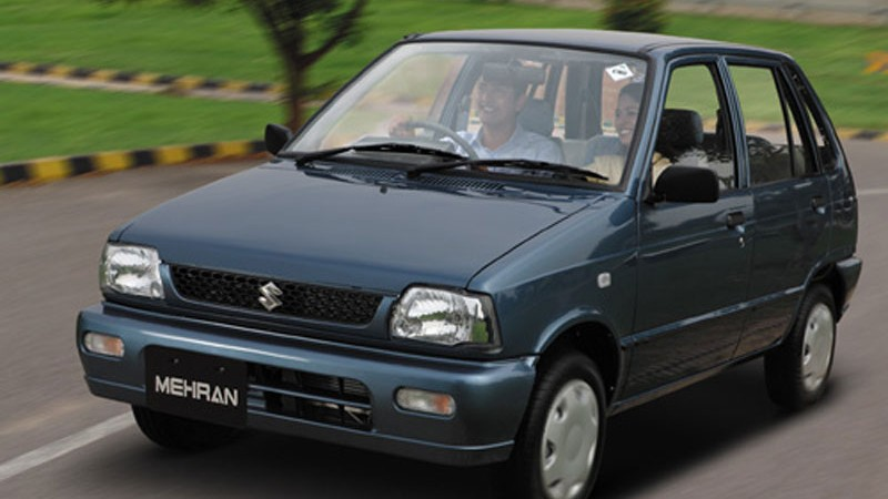 Suzuki Mehran is one of cheap cars for sale in Pakistan