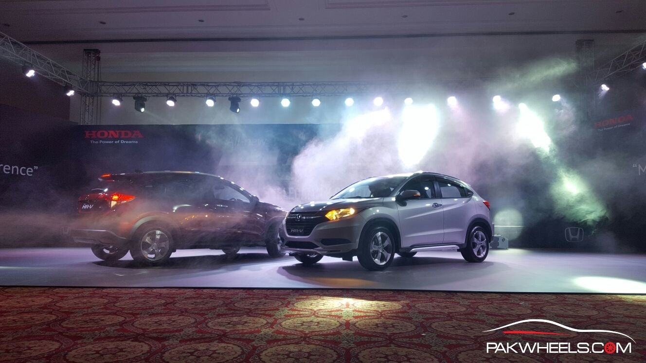 The recently introduced Honda HR-V.