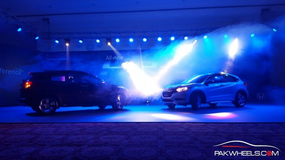 new car launches pakistanHonda Atlas Launches 2016 Honda HRV At An Exclusive Event In