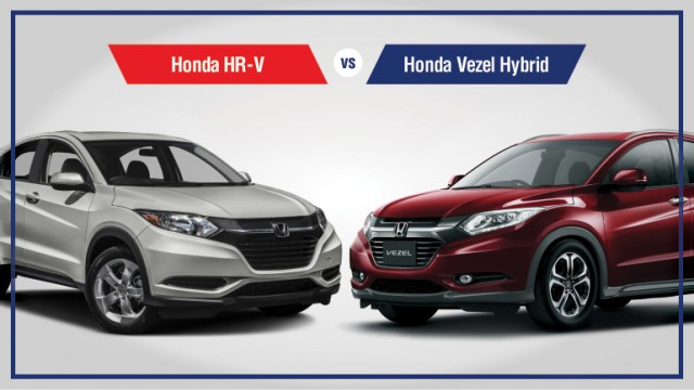 honda hr v vs honda vezel hybrid a brief comparison pakwheels blog. Black Bedroom Furniture Sets. Home Design Ideas