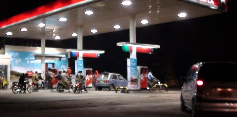 caltex petrol pump