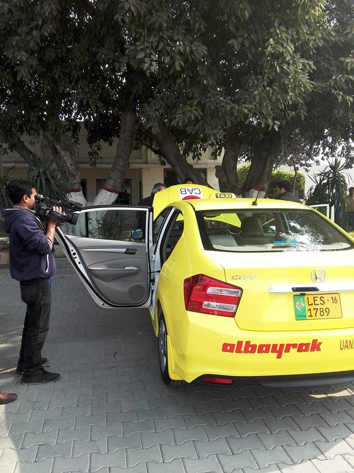 Honda City Albayrak Taxi