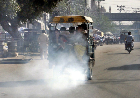 Traffic Pollution in Pakistan
