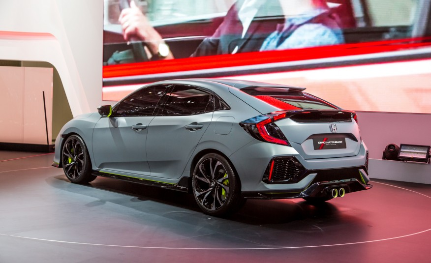 2017 Honda Civic Hatchback Concept Photos Leaked Before Its Reveal At ...