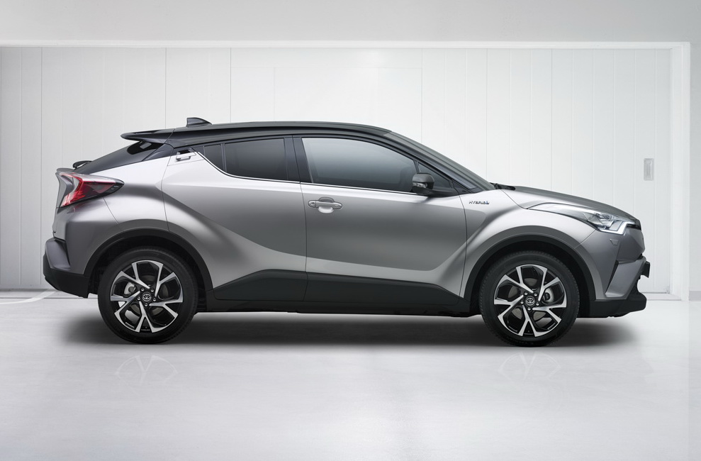 2017-Toyota C-HR Can Be A Potential Honda Vezel Killer