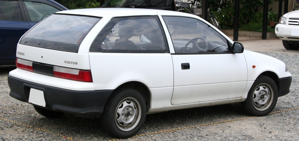 Two Door Suzuki Cultus