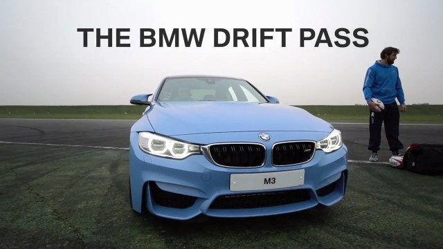 BMW M3 Drift Pass- England Rugby Challenge