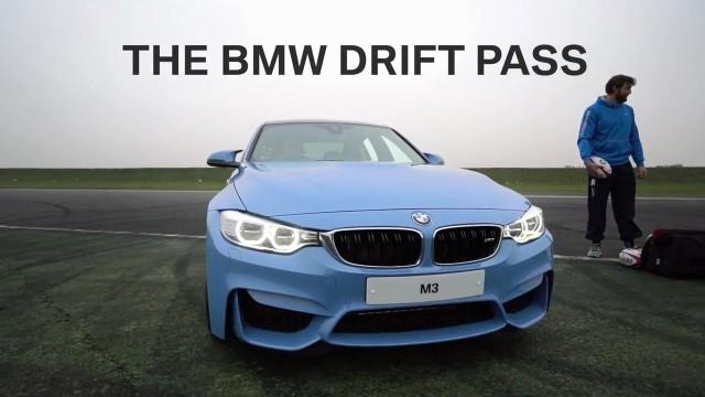 BMW M3 Drift Pass- England Rugby Challenge