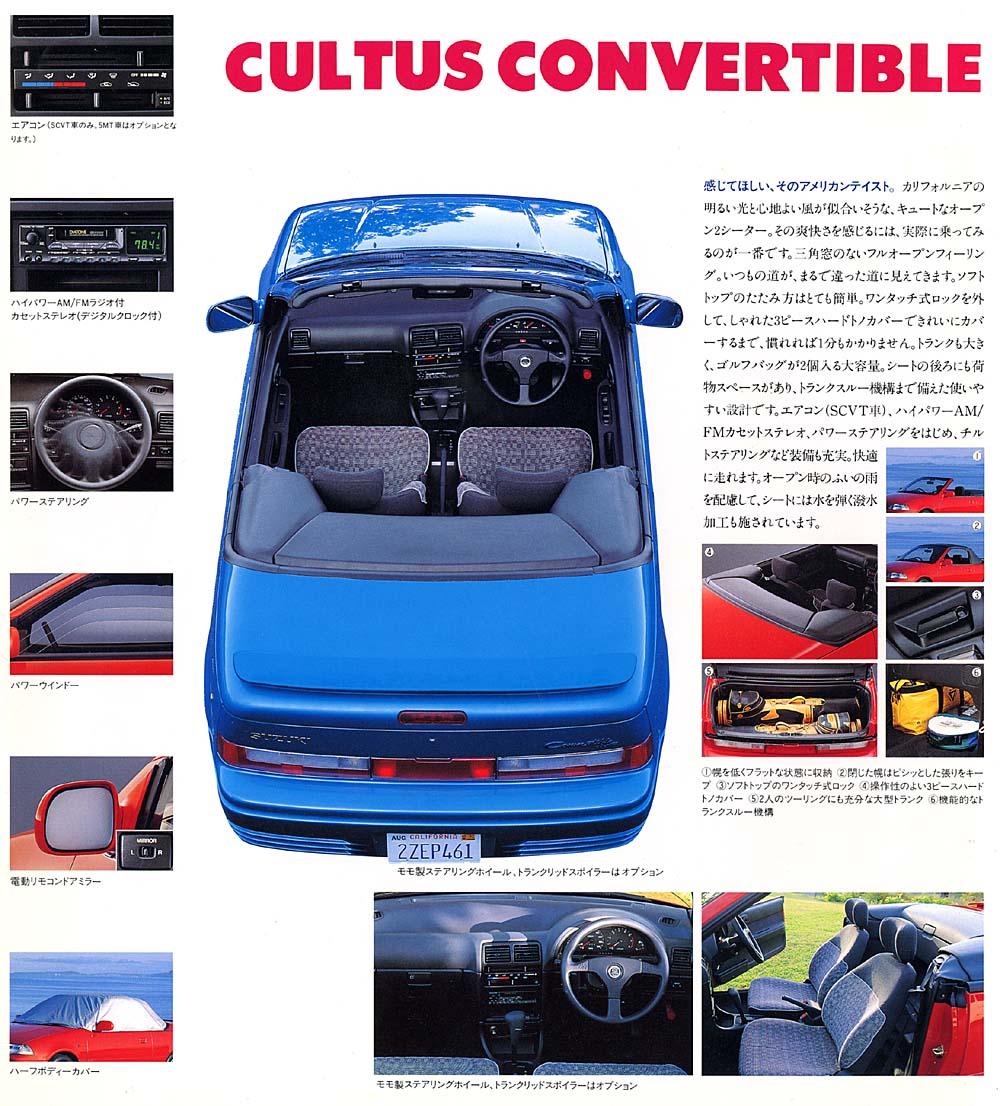 Convertible Suzuki Cultus