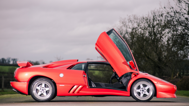The Last Lamborghini Diablo Sv About To Go On Sale Pakwheels Blog