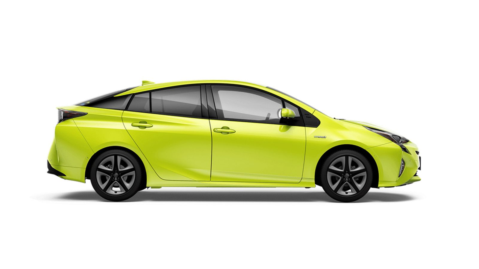 Toyota Prius Lime Green Paint