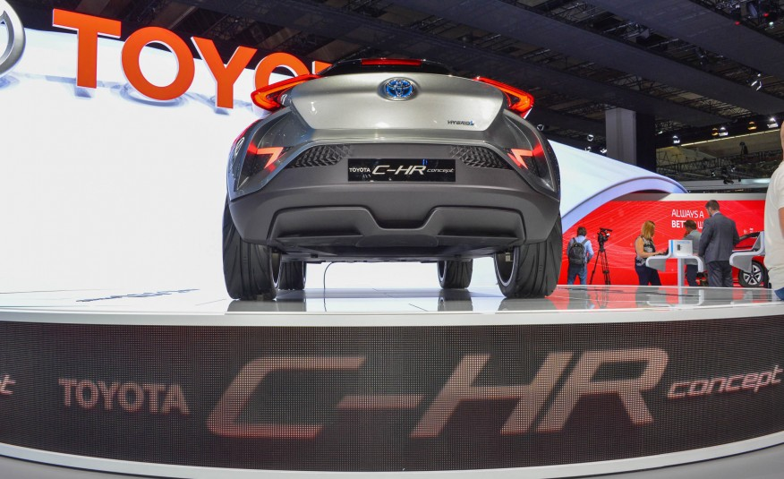 Toyota C-HR Can Be A Potential Honda Vezel Killer