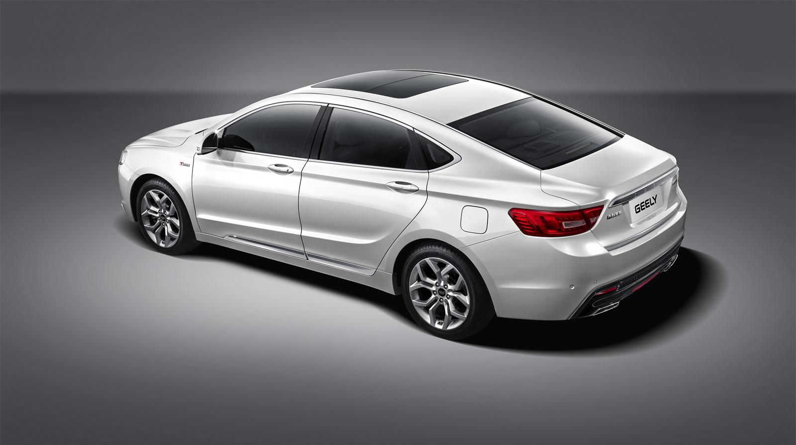 Geely Emgrand GSe is released in China for 119,800 RMB