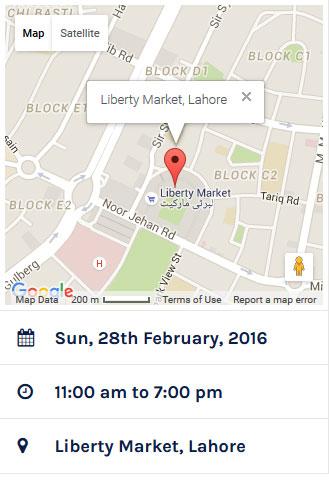 PakWheels Lahore Auto Show 2016 Details