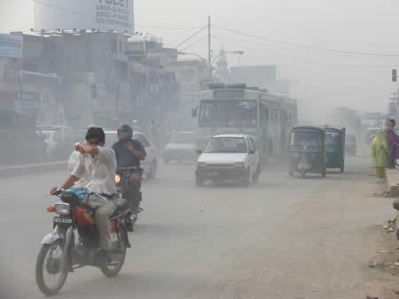 Road Pollution in Pakistan