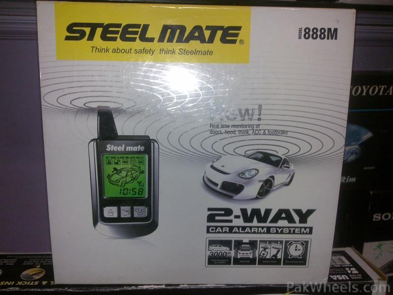 steelmate 2 way security system