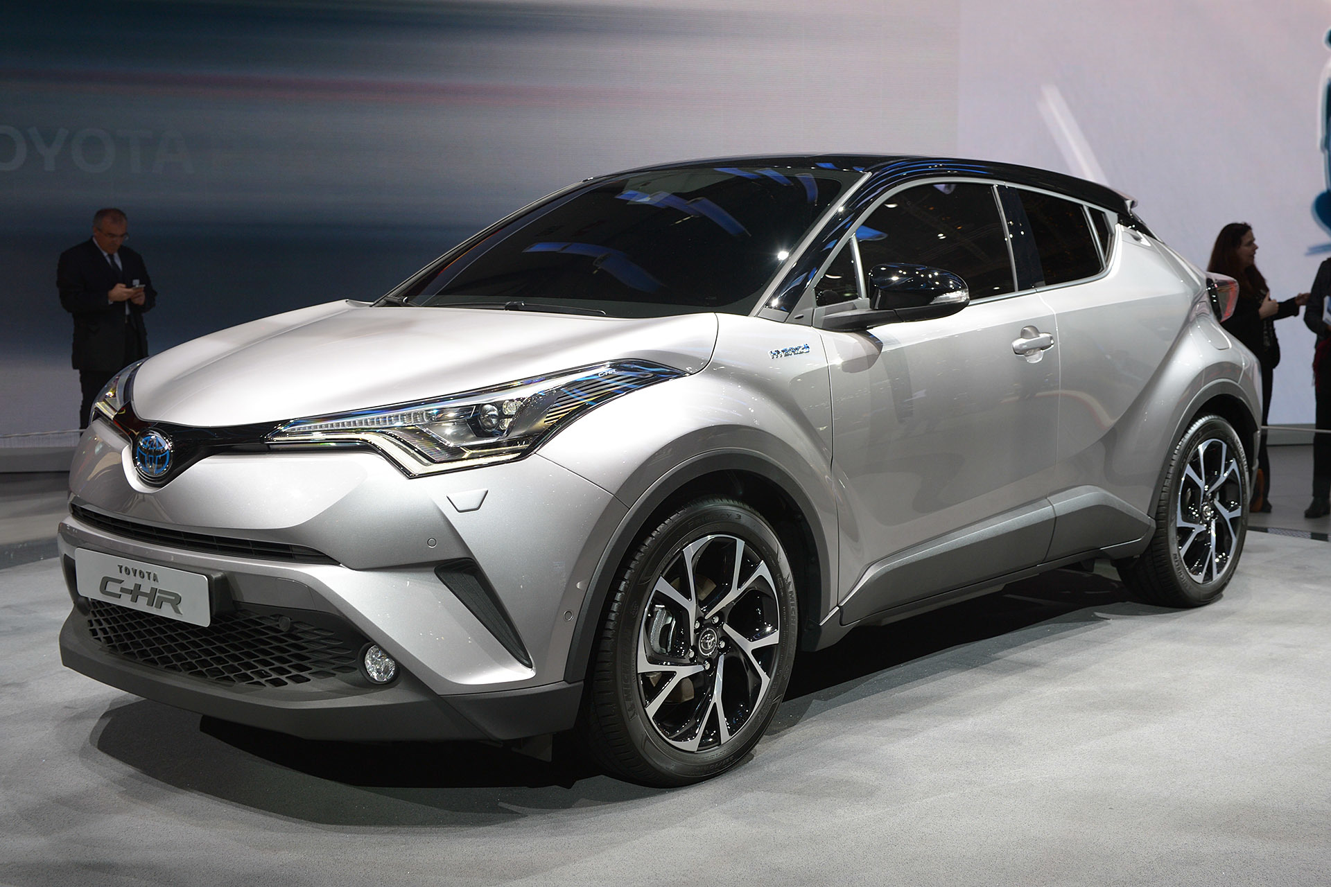 Toyota's Vezel Fighter 'C-HR' Will Be Available With A 1