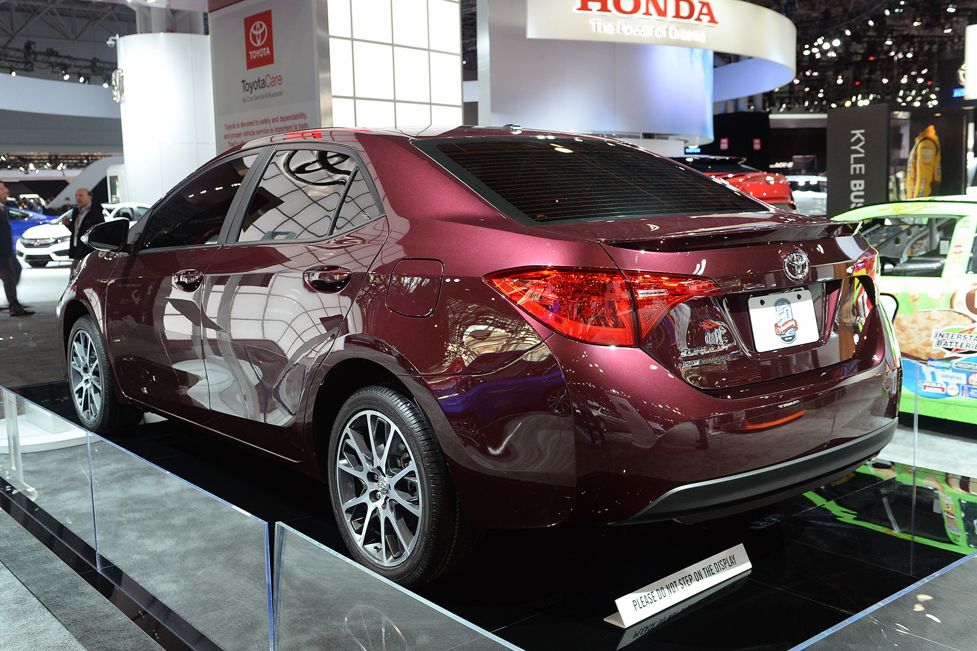 Toyota also shared a new website: ' Corolla50 ' where Corolla ...