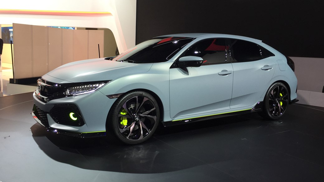 2017 honda civic hatchback finally revealed at 2016 geneva