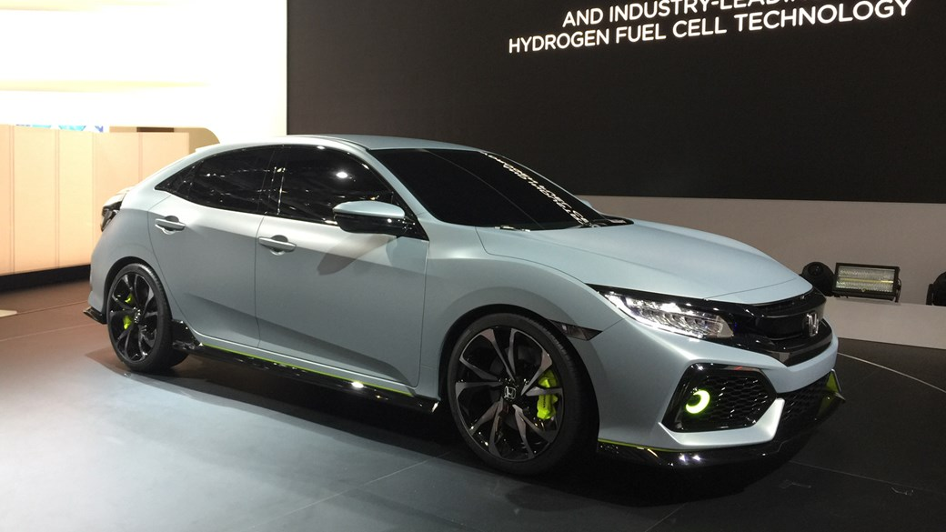 2017 Honda Civic Hatchback Finally Revealed At 2016 Geneva Motor Show ...