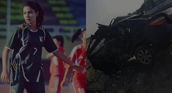 footballer accident