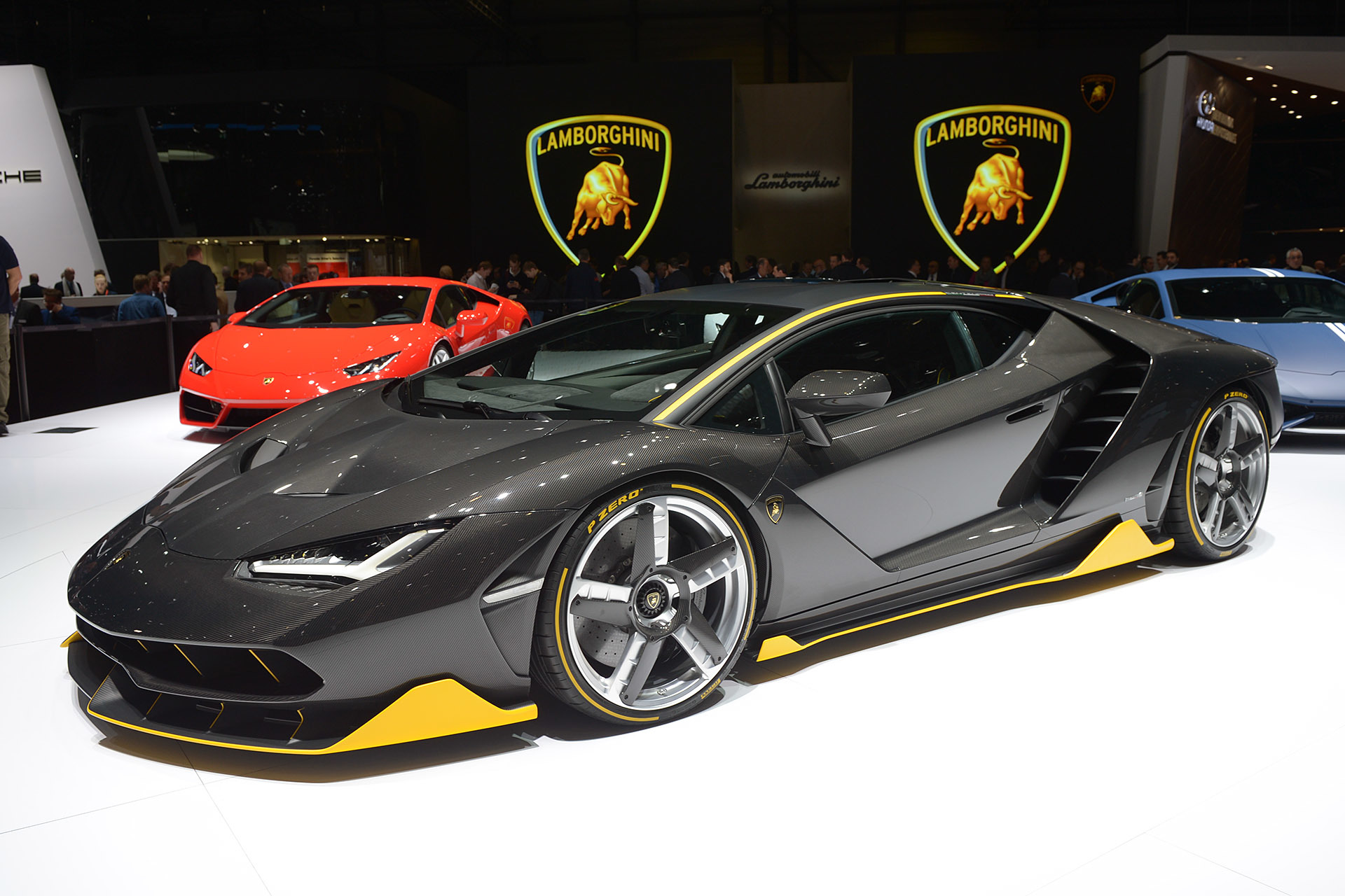 lamborghini reveals the new 760 hp centenario hypercar at 2016