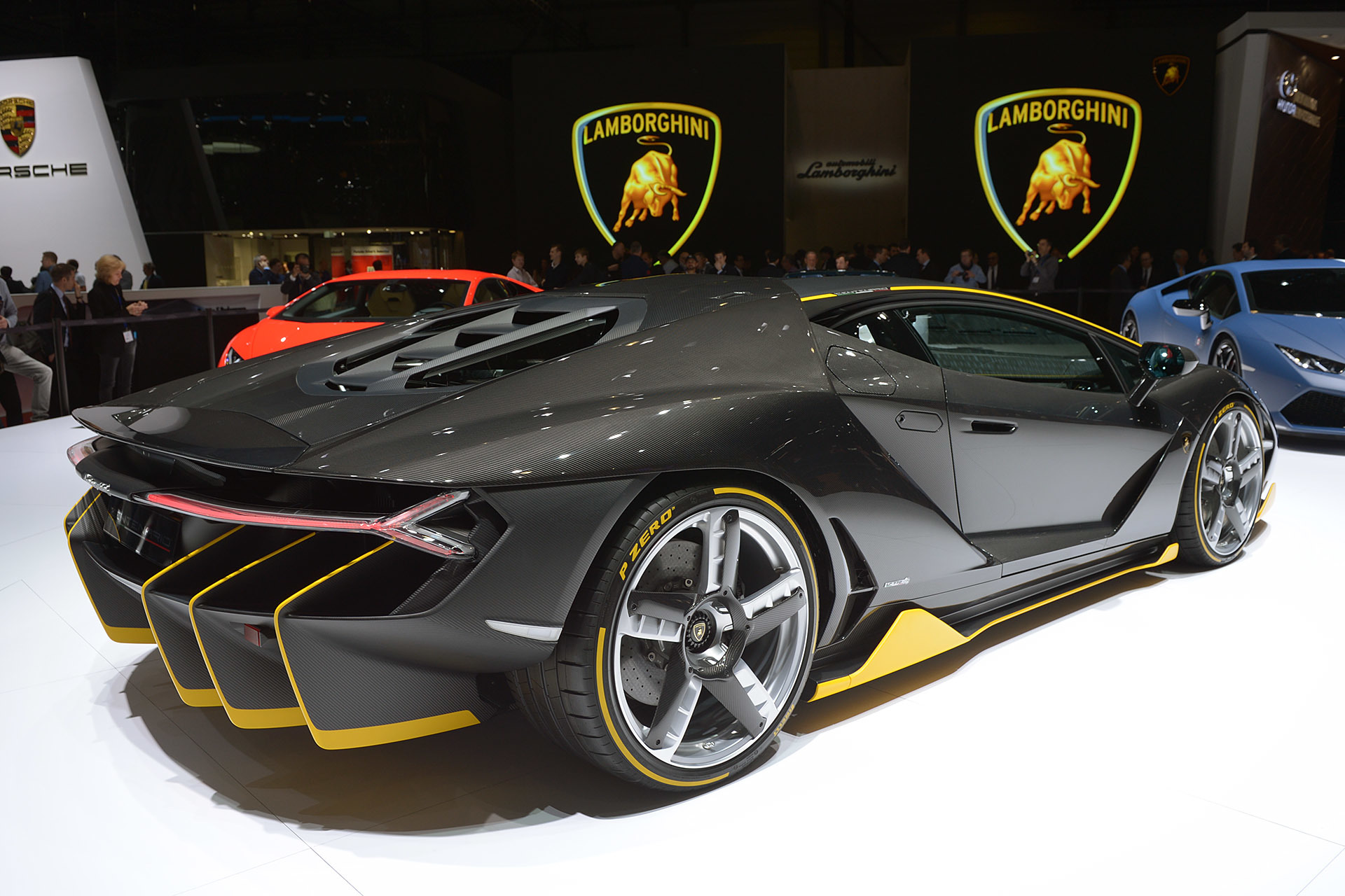 Lamborghini Reveals The New 760 Hp Centenario Hypercar At