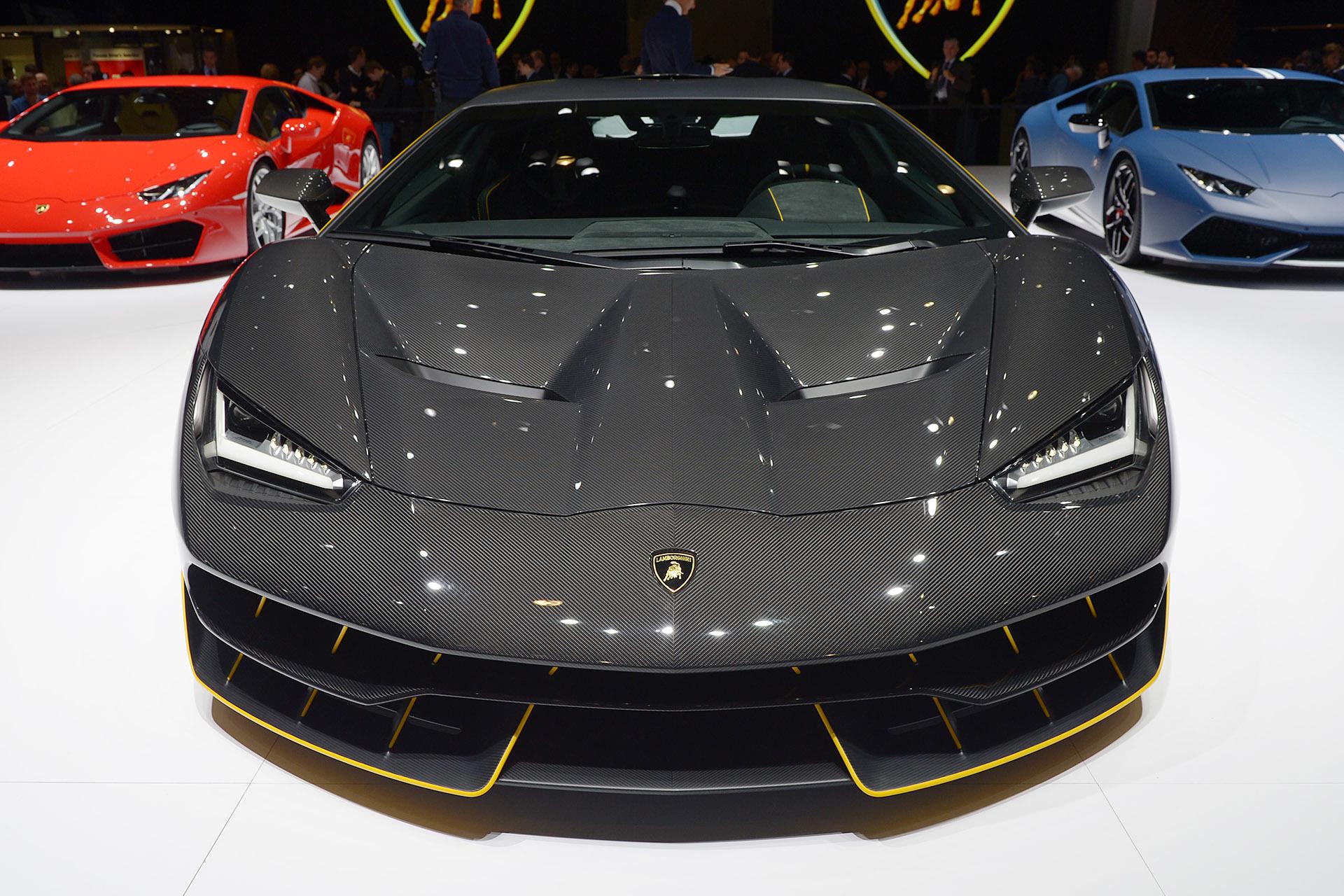 Lamborghini Reveals The New 760 Hp Centenario Hypercar At