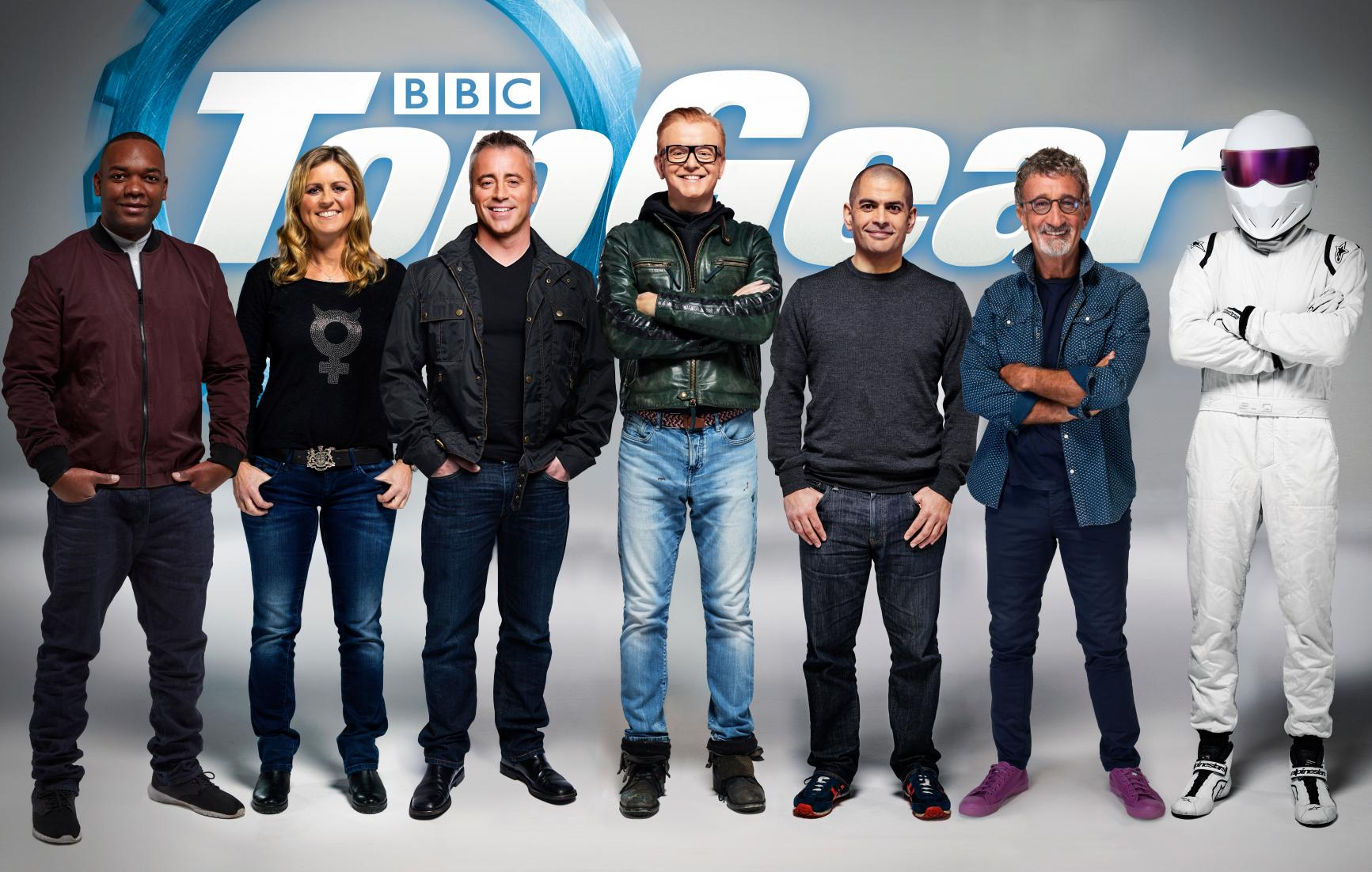 New Top Gear UK Line-up