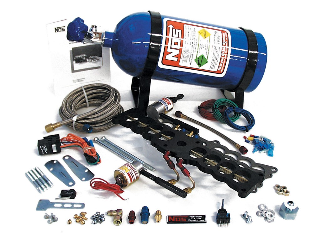 Typical Nitrous Oxide kit