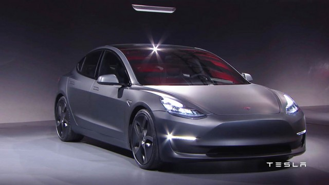 Tesla Model 3 Revealed - For US $35,000, You Can Go 215