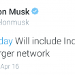 Elon Musk confirmed that Tesla would lay a nation-wide super charging network in India